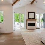 Gloria master bedroom fireplace