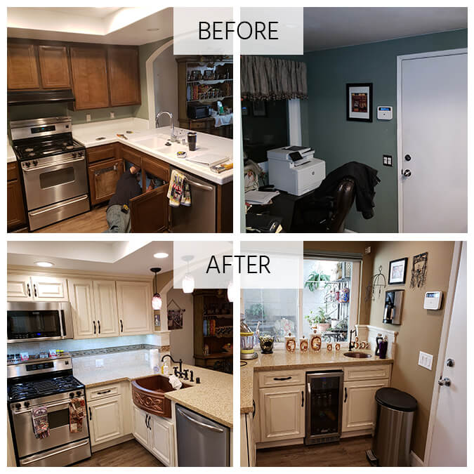 review kitchen remodeling